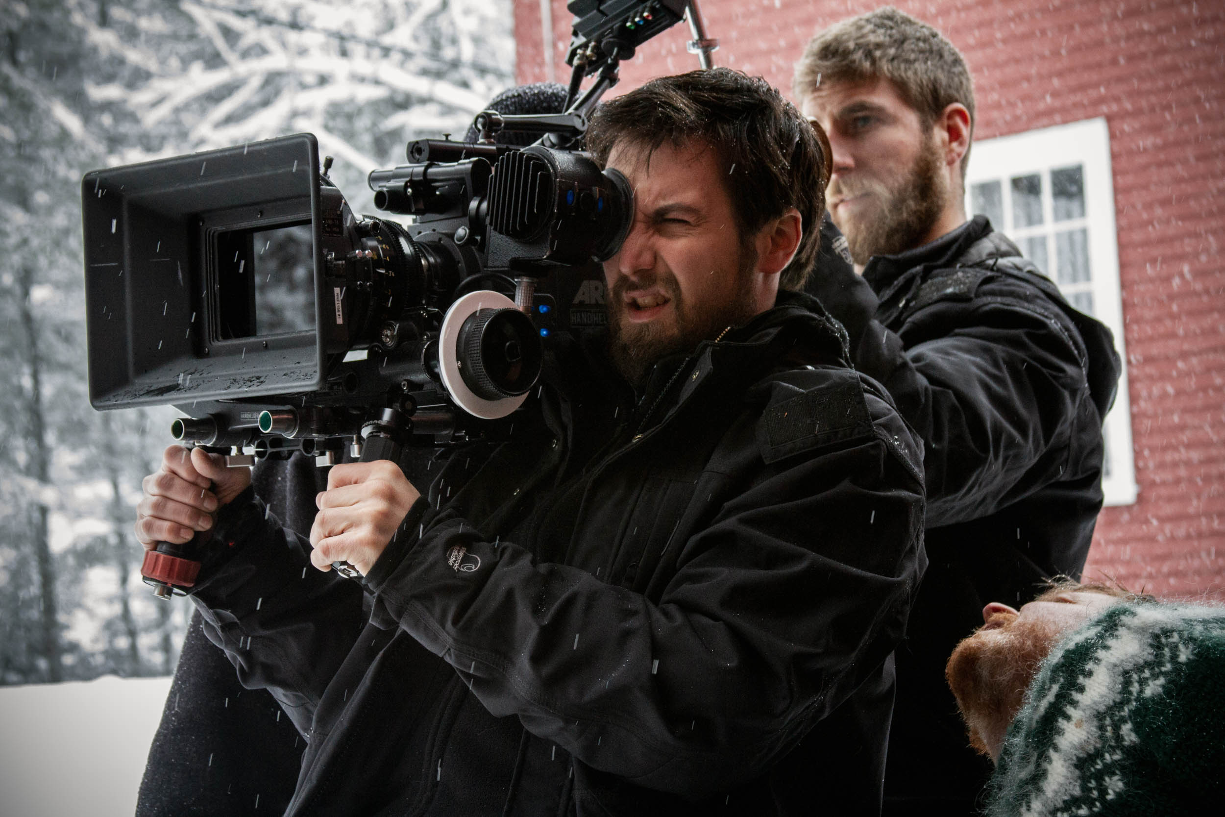Director of photography matthew mendelson in action