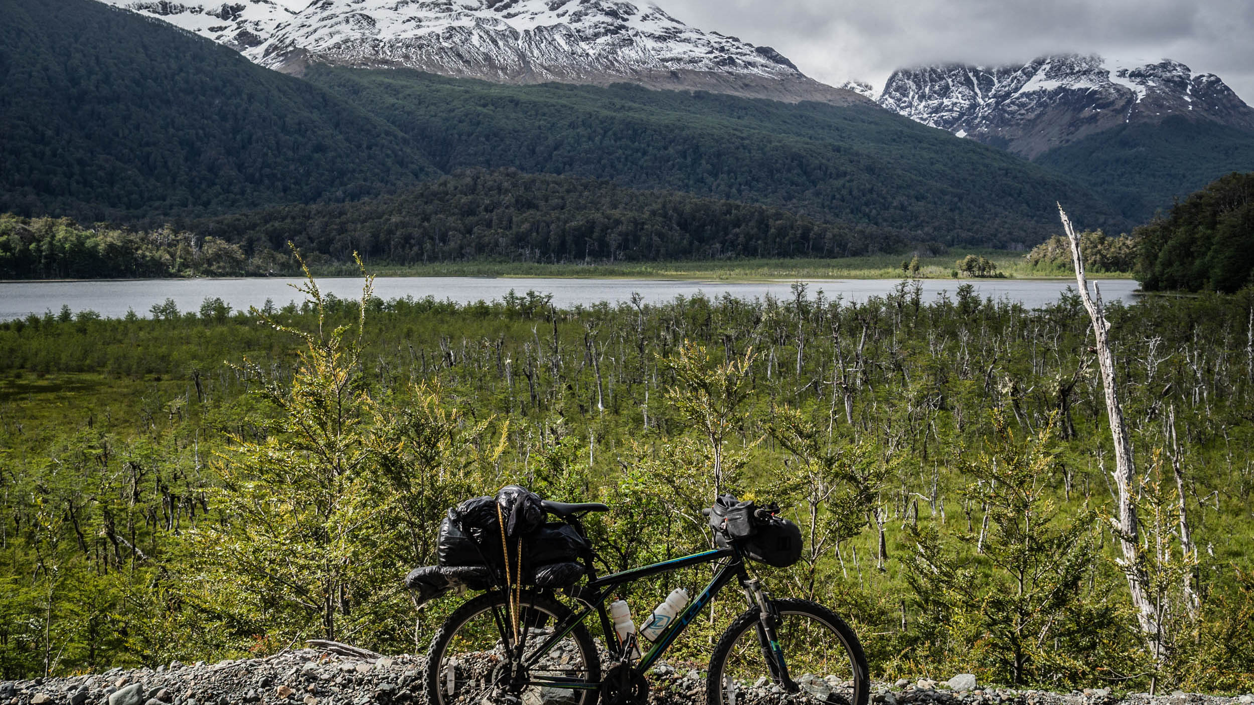 Cycling at the end of the World